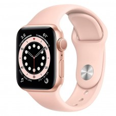Часы Apple Watch Series 6 GPS 40mm Aluminum Case with Sport Band ROSE / GOLD