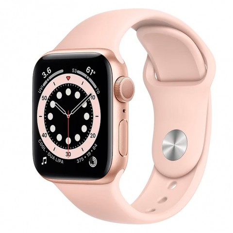 Часы Apple Watch Series 6 GPS 44mm Aluminum Case with Sport Band ROSE / GOLD
